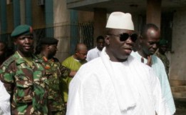 Gambia's President Alhagi Yahya Jammeh. Photo: AP /Hasan Sarbakhshian